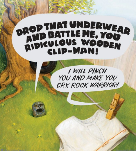 celebrate-picture-books-picture-book-review-the-legend-of-rock-paper-scissors-clothes-pin