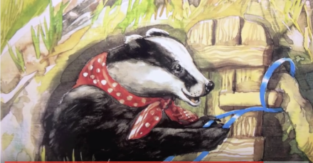 celebrate-picture-books-picture-book-review-the-scarecrow's-hat-badger