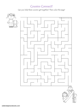 celebrate-picture-books-picture-book-review-cousins-connect-maze