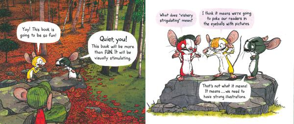celebrate-picture-books-picture-book-review-be-quiet-visually-stimulating