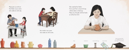 celebrate-picture-books-picture-book-review-maya-lin-artist-architect-of-light-and-lines-with-parents