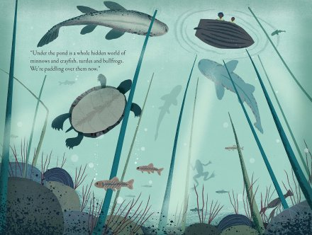 celebrate-picture-books-picture-book-review-over-and-under-the-pond-hidden-world