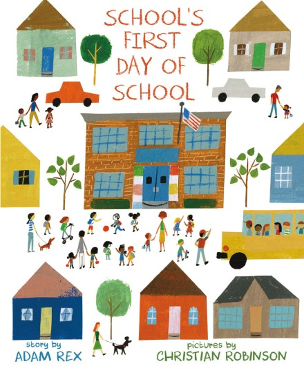 celebrate-picture-books-picture-book-review-school's-first-day-of-school-cover