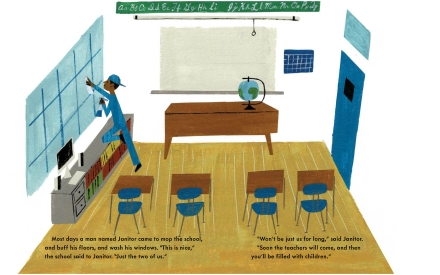 celebrate-picture-books-picture-book-review-school's-first-day-of-school-janitor