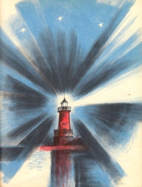 celebrate-picture-books-picture-book-review-the-little-red-lighthouse-and-the-great-gray-bridge-lighthouse