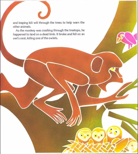 celebrate-picture-books-picture-book-review-why-mosquitoes-buzz-in-people's-ears-monkey