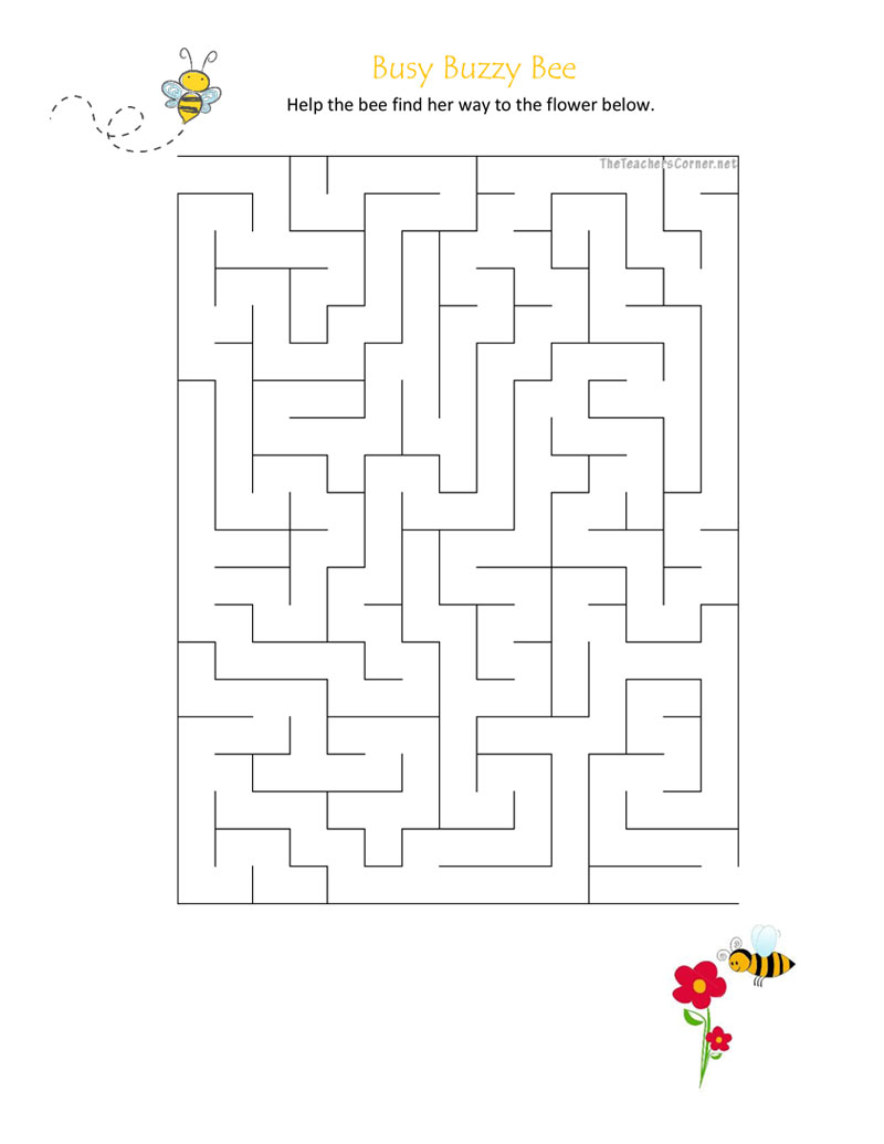 CPB---Busy-Buzzy-Bee-Maze