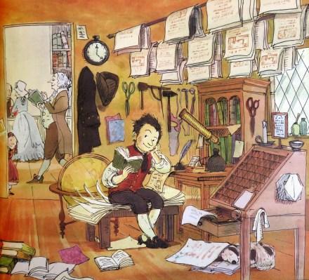 celebrate-picture-books-picture-book-review-balderdash!-john-newbery-and-the-boisterous-birth-of-children's-books-newbery's-shop