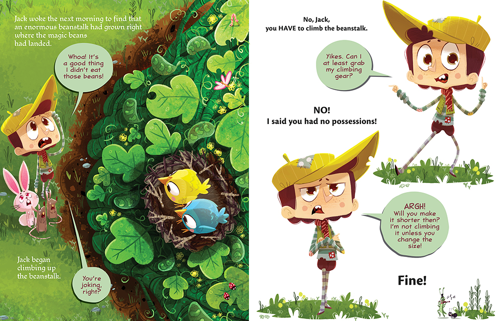 celebrate-picture-books-picture-book-review-it's-not-jack-and-the-beanstalk-beanstalk-grows