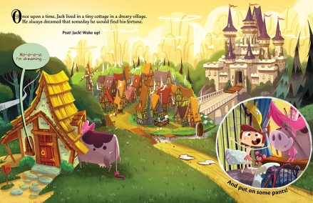 celebrate-picture-books-picture-book-review-it's-not-jack-and-the-beanstalk-wake-up