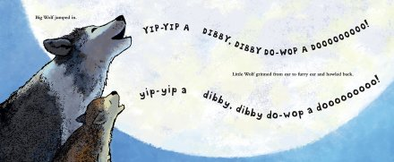 celebrate-picture-books-picture-book-review-little-wolf's-first-howling-howling-together
