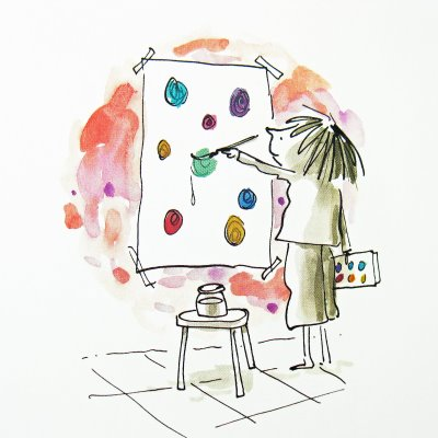 celebrate-picture-books-picture-book-review-the-dot-experimenting-with-dots