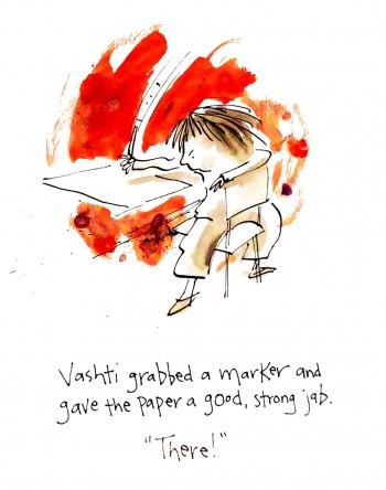 celebrate-picture-books-picture-book-review-the-dot-vashti-jabs-paper