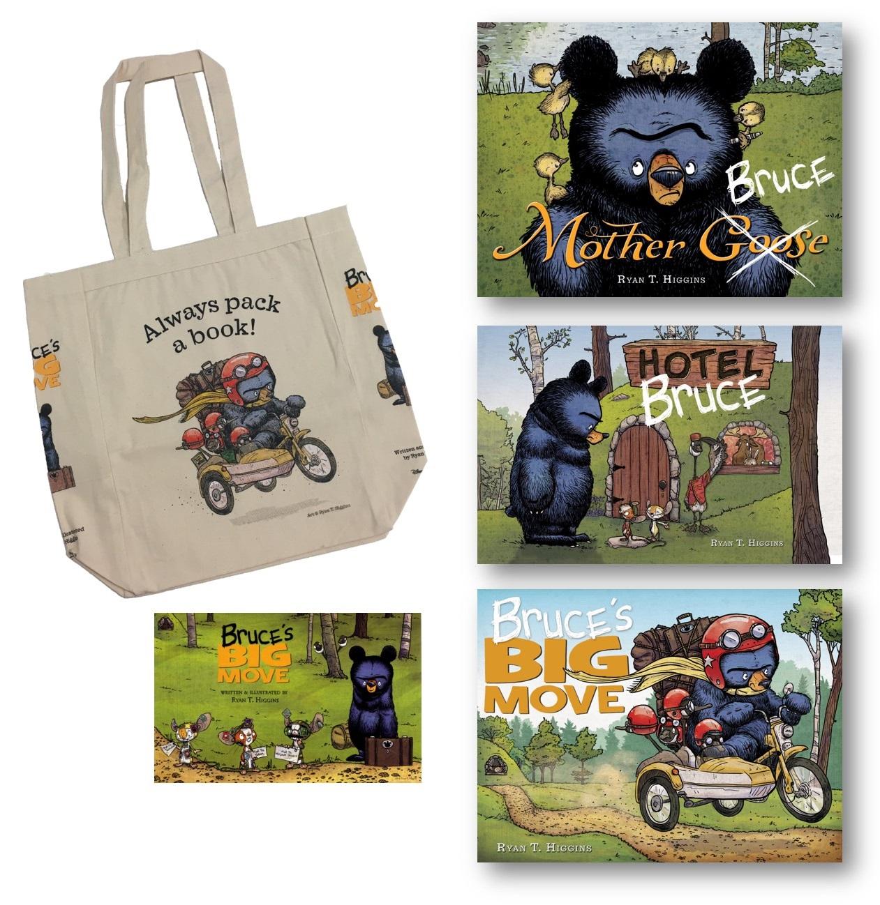 celebrate-picture-books-picture-book-review-Bruce-WholeLottaBrucePrize
