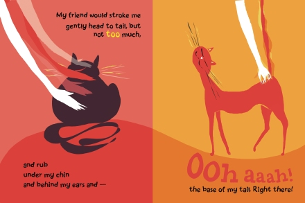 celebrate-picture-books-picture-book-review-a-cat-like-that-petting