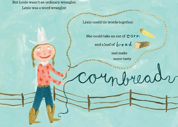 celebrate-picture-books-picture-book-review-lexie-the-word-wrangler-cornbread