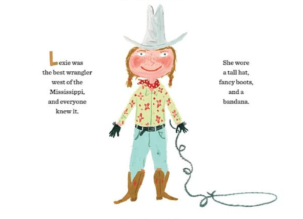 celebrate-picture-books-picture-book-review-lexie-the-word-wrangler-lariat