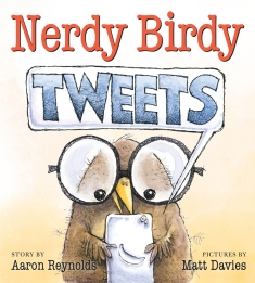 celebrate-picture-books-picture-book-review-nerdy-birdy-tweets-cover