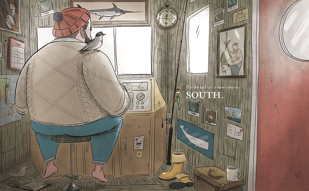 celebrate-picture-books-picture-book-review-south-daniel-duncan-bird-on-shoulder