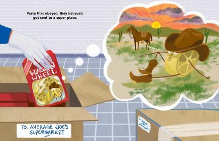 celebrate-picture-books-picture-book-review-the-great-pasta-escape-western-scene