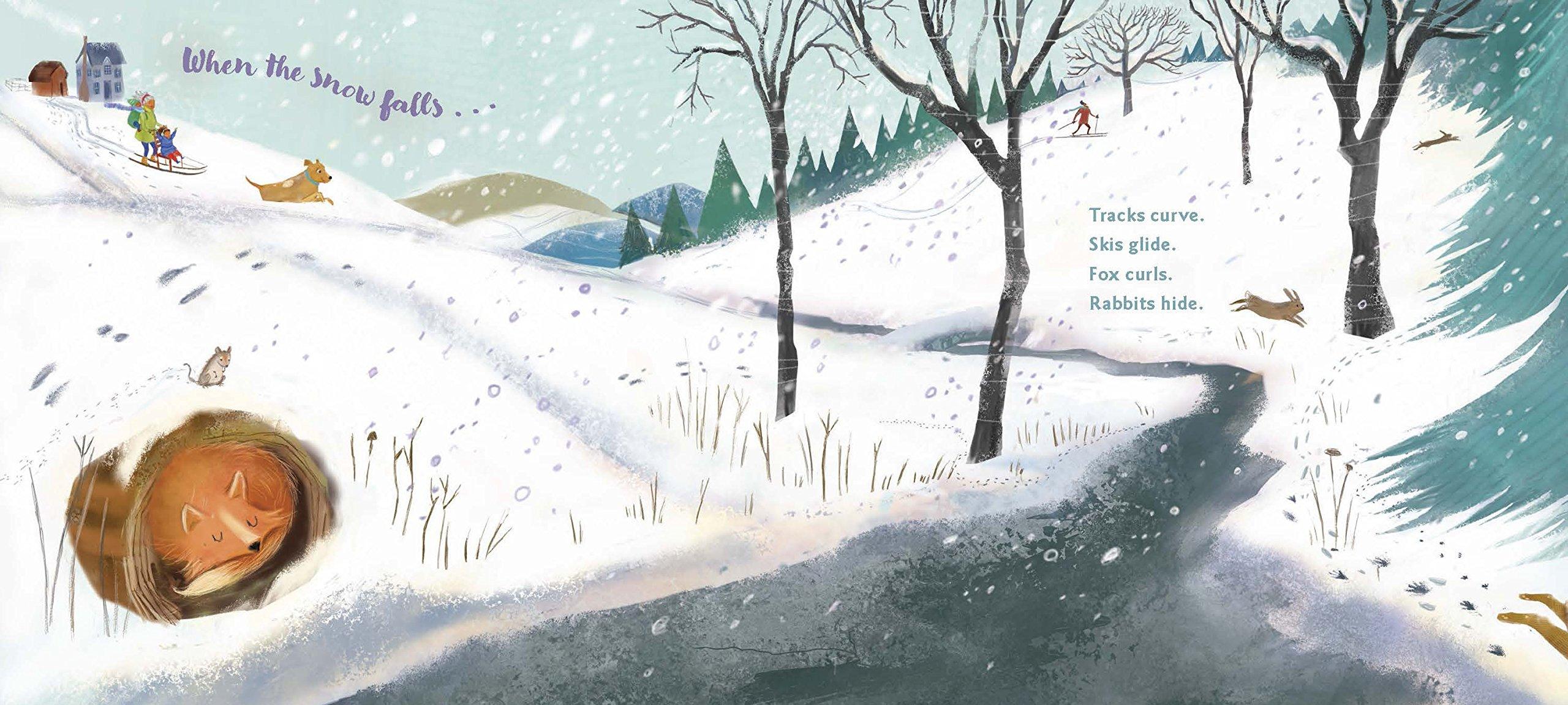 celebrate-picture-books-picture-book-review-when-the-snow-falls-fox