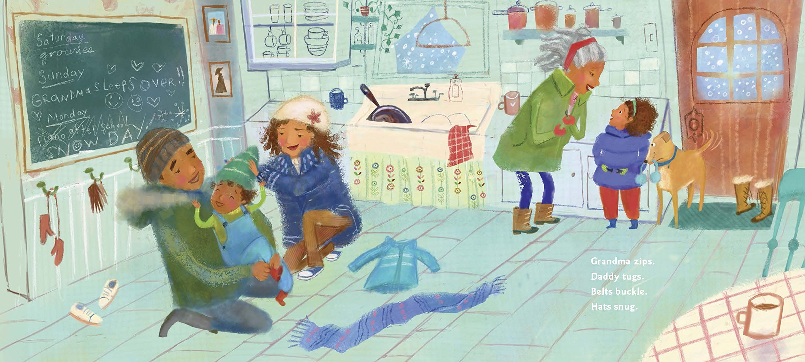 celebrate-picture-books-picture-book-review-when-the-snow-falls-kitchen