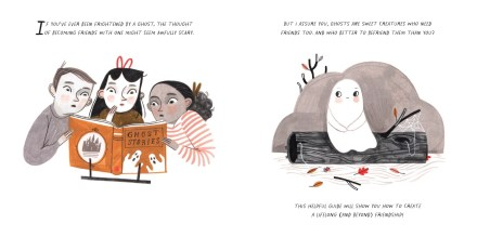 celebrate-picture-books-picture-book-review-how-to-make-friends-with-a-ghost-on-log