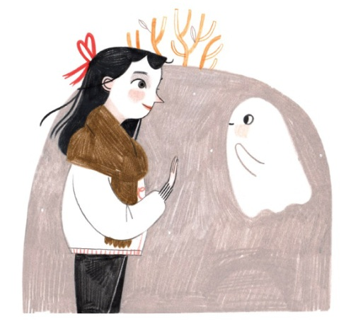 celebrate-picture-books-picture-book-review-how-to-make-friends-with-a-ghost-say-hi