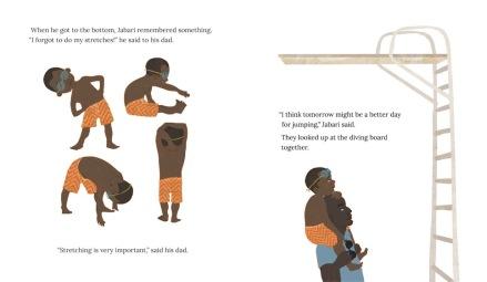 celebrate-picture-books-picture-book-review-jabari-jumps-stretching