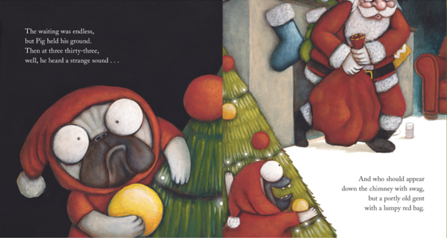 celebrate-picture-books-picture-book-review-pig-the-elf-pig-peeking