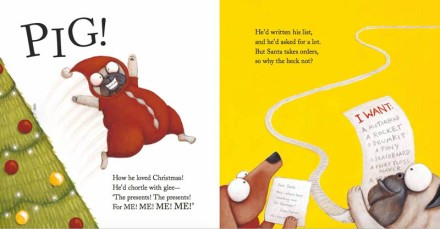 celebrate-picture-books-picture-book-review-pig-the-elf-pig's-list