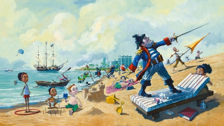 celebrate-picture-books-picture-book-review-pirate's-perfect-pet-beach