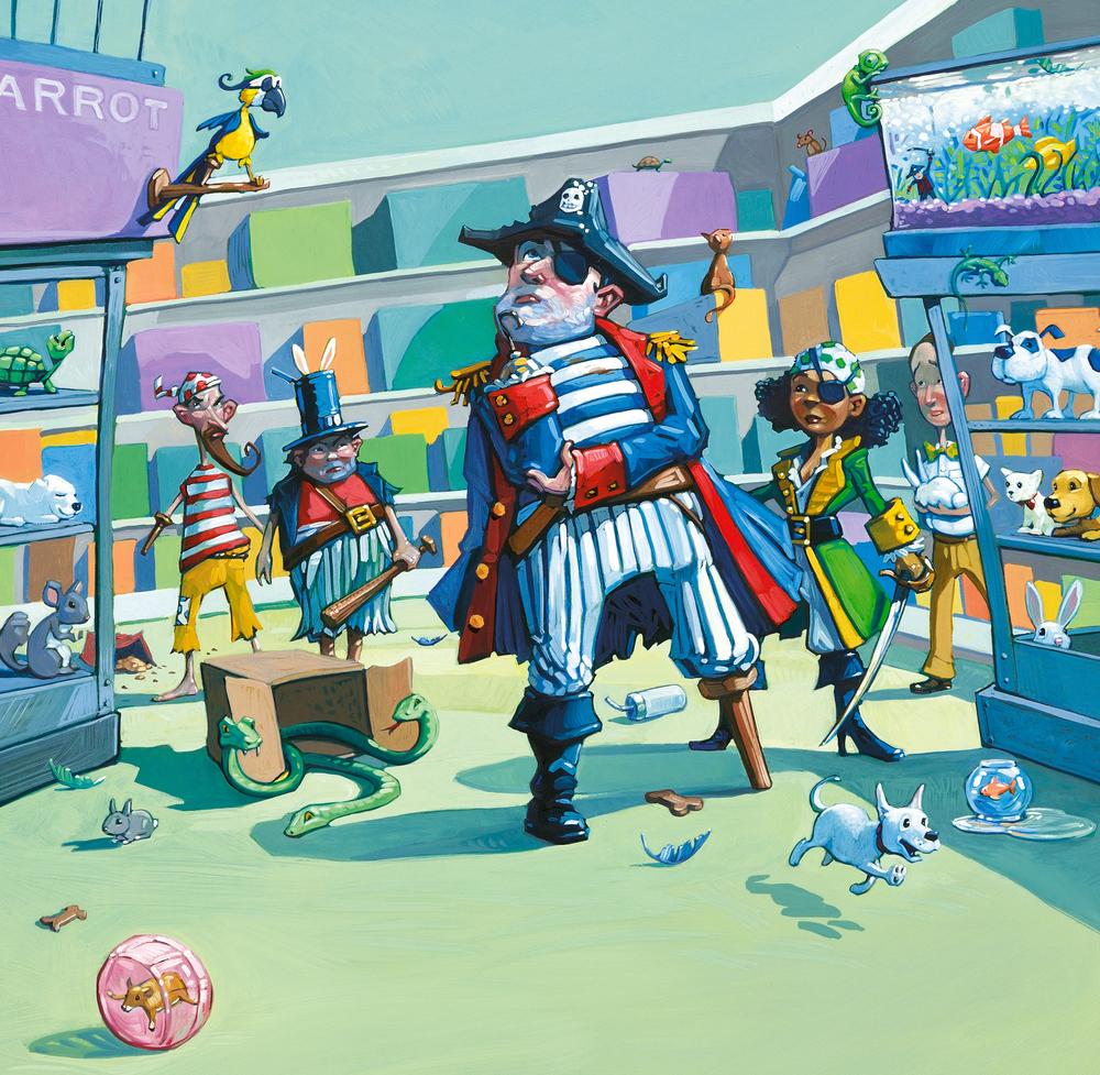 celebrate-picture-books-picture-book-review-pirate's-perfect-pet-pet-emporium