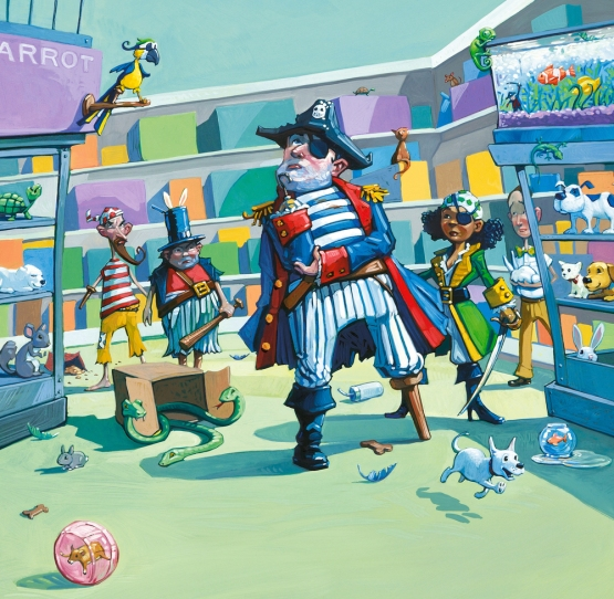 celebrate-picture-books-picture-book-review-pirate's-perfect-pet-pet-emporium