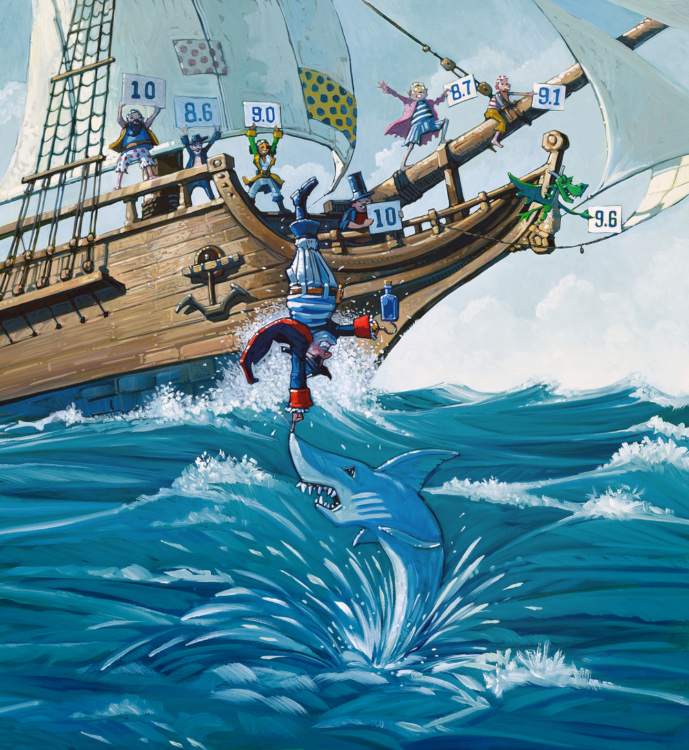 celebrate-picture-books-picture-book-review-pirate's-perfect-pet-retrieving-bottle