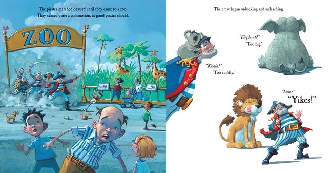 celebrate-picture-books-picture-book-review-pirate's-perfect-pet-zoo