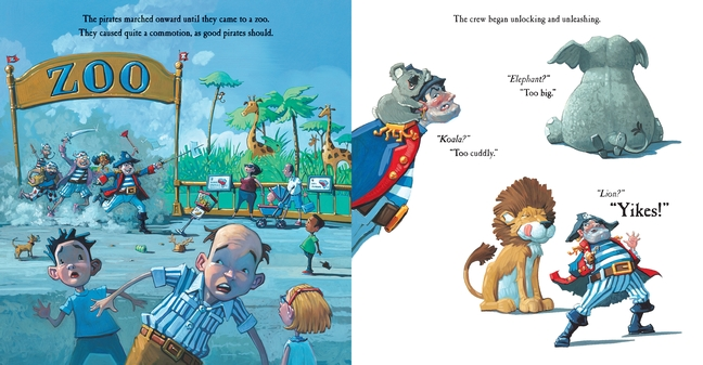 celebrate-picture-books-picture-book-review-pirate's-perfect-pet-zoo