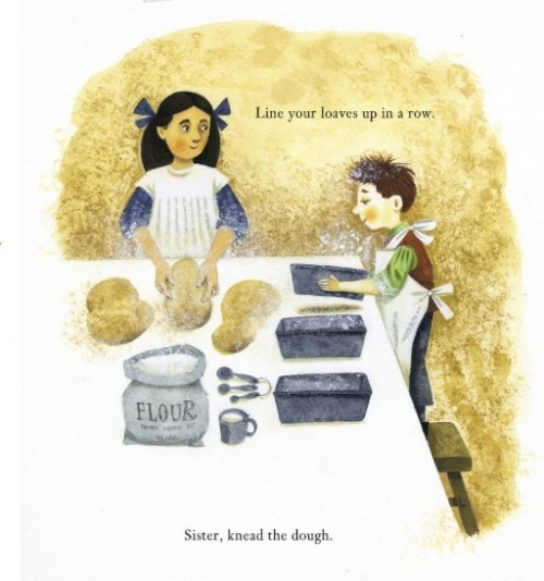 celebrate-picture-books-picture-book-review-sharing-the-bread-an-old-fashioned-thanksgiving-story-bread