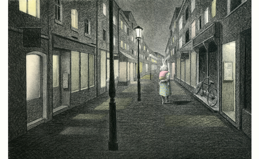 celebrate-picture-books-picture-book-review-the-way-home-in-the-night-street-scene