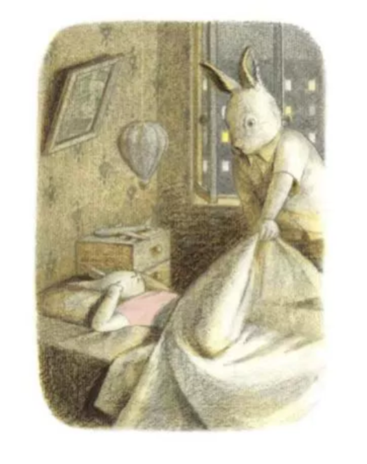 celebrate-picture-books-picture-book-review-the-way-home-in-the-night-tucked-into-bed