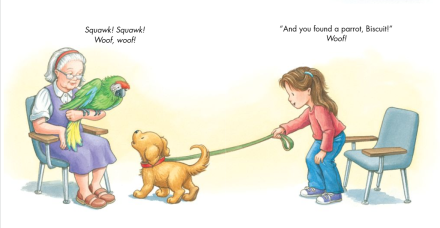 celebrate-picture-books-picture-book-review-biscuit-visits-the-doctor-parrot