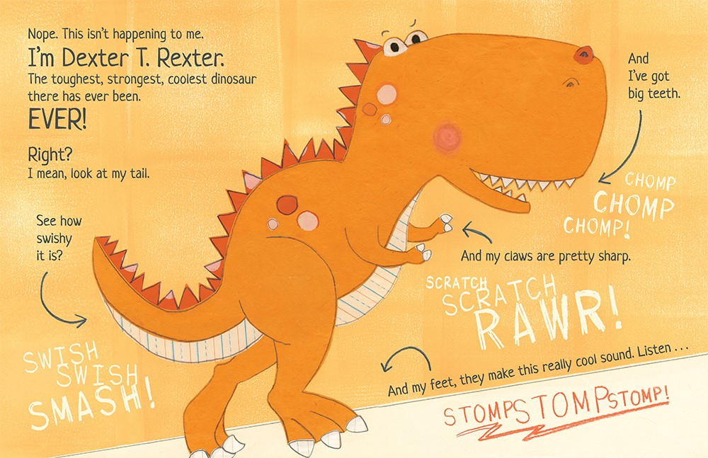 celebrate-picture-books-picture-book-review-don't-forget-dexter-dexter-t-rexter