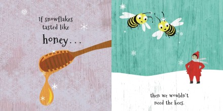 celebrate-picture-books-picture-book-review-if-snowflakes-tasted-like-fruitcake-honey