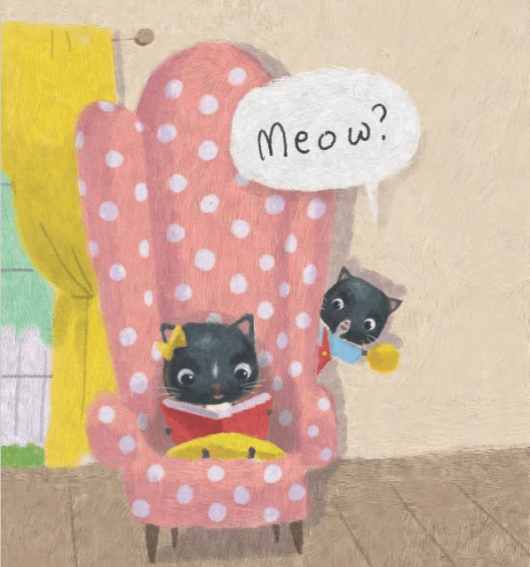 celebrate-picture-books-picture-book-review-meow-victoria-ying-reading