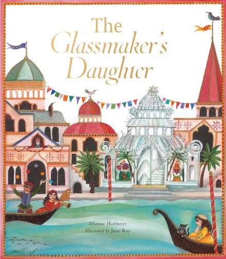 celebrate-picture-books-picture-book-review-the glassmaker's-daughter-cover