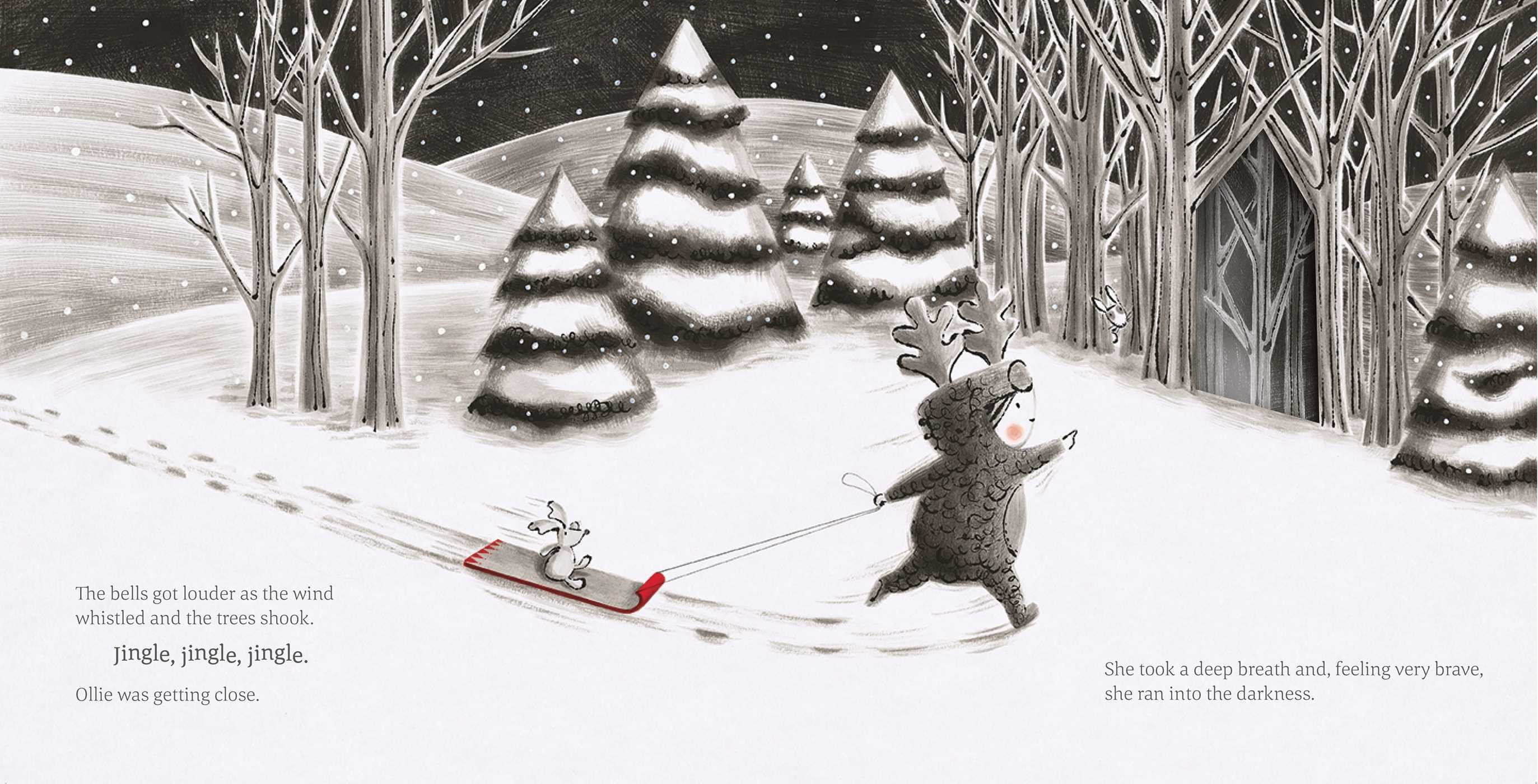 celebrate-picture-books-picture-book-review-the-little-reindeer-into-forest