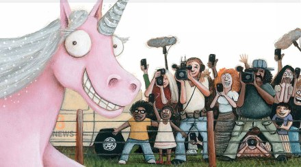 celebrate-picture-books-picture-book-review-thelma-the-unicorn-adoring-crowds