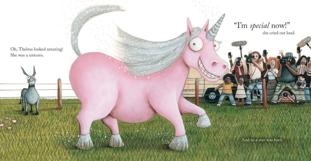 celebrate-picture-books-picture-book-review-thelma-the-unicorn-becomes-unicorn