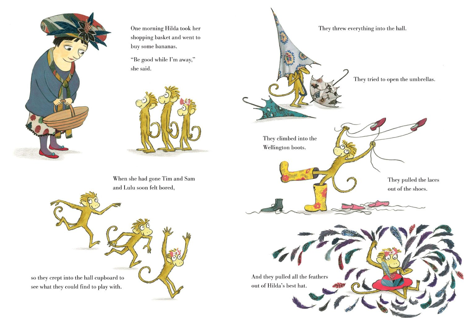 celebrate-picture-books-picture-book-review-three-little-monkeys-hall