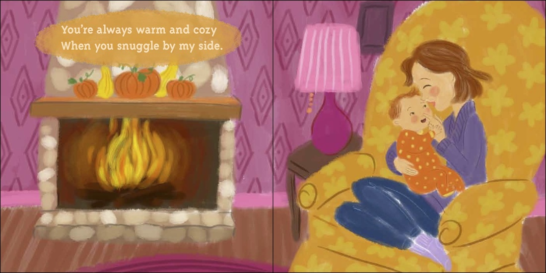 celebrate-picture-books-picture-book-review-you-are-my-little-pumpkin-pie-fireplace
